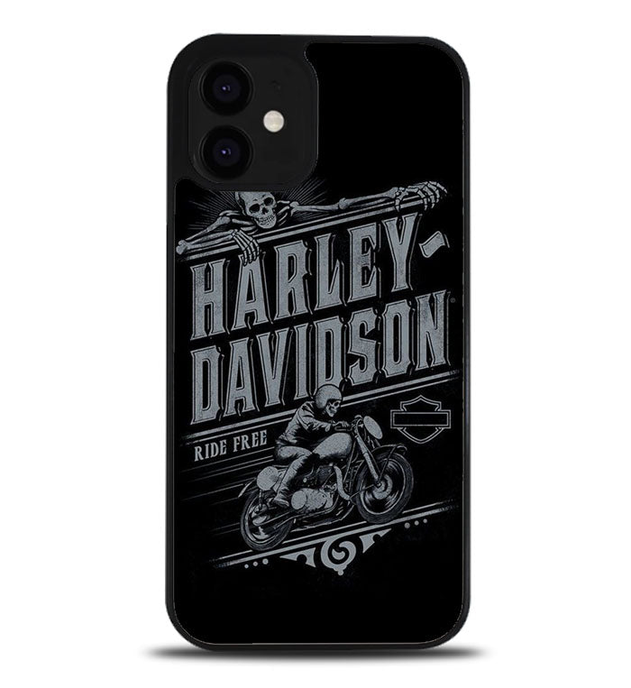 Harley Davidson logo A0928 iPhone 12 Case