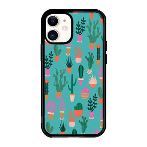 Patio Pattern Cactus X5965 iPhone 12 Mini Case