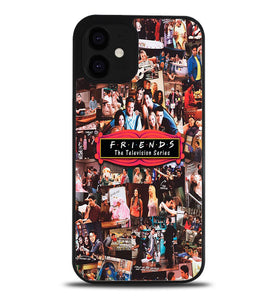 Friends Collage Poster A0925 iPhone 12 Case