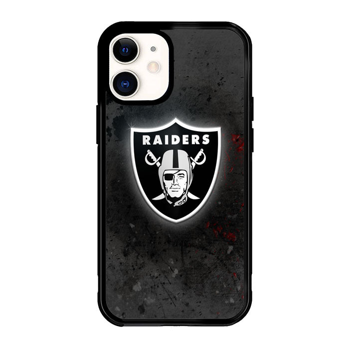 Oakland Raiders Black X6219 iPhone 12 Mini Case