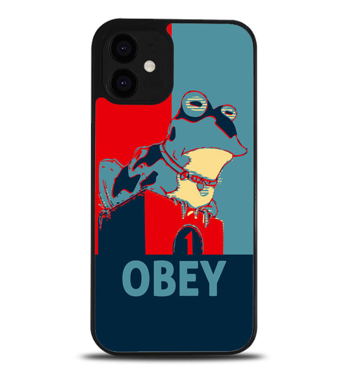 obey frog A0954 iPhone 12 Case