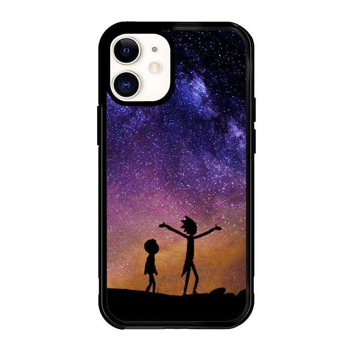 Rick and Morty Space Nebula X6226 iPhone 12 Mini Case
