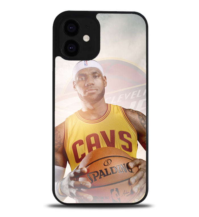 King James Cleveland Cavaliers A1058 iPhone 12 Case