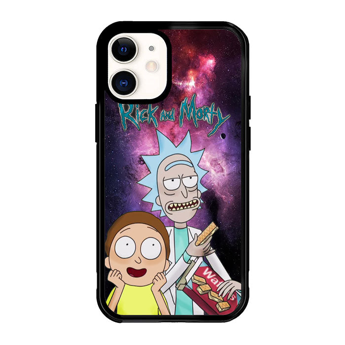 Rick and Morty X8037 iPhone 12 Mini Case