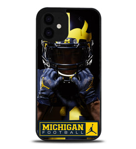 Michigan Wolverines A1067 iPhone 12 Case