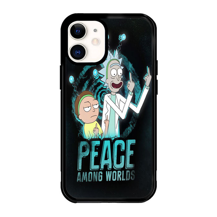 Rick And Morty X8597 iPhone 12 Mini Case