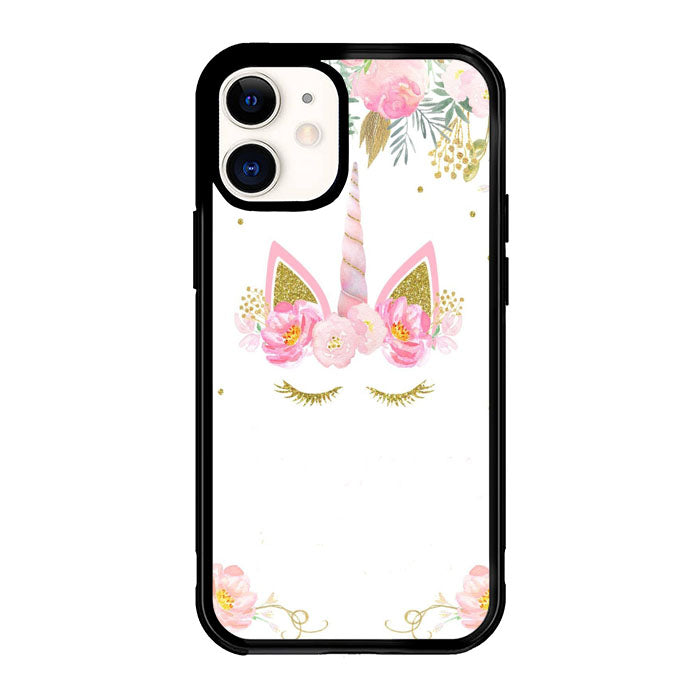 Unicorn Clip Art X8830 iPhone 12 Mini Case