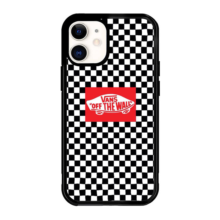 Vans Black And White X8901 iPhone 12 Mini Case