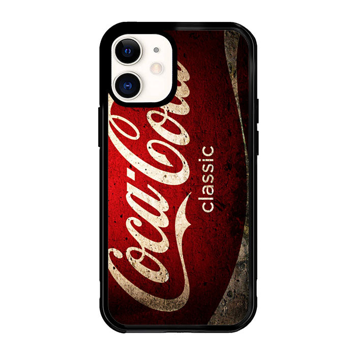 Coca Cola Classic Logo E0846 iPhone 12 Mini Case