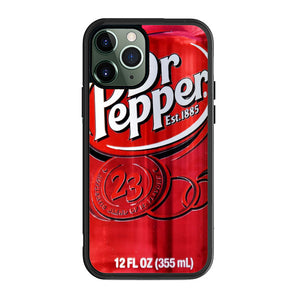 Dr Pepper Canned Can Drink Cola Soda Beverage A2505 iPhone 12 Pro Case