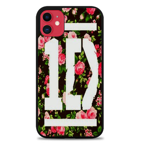 1D One Direction Floral A4152 iPhone 11 Case