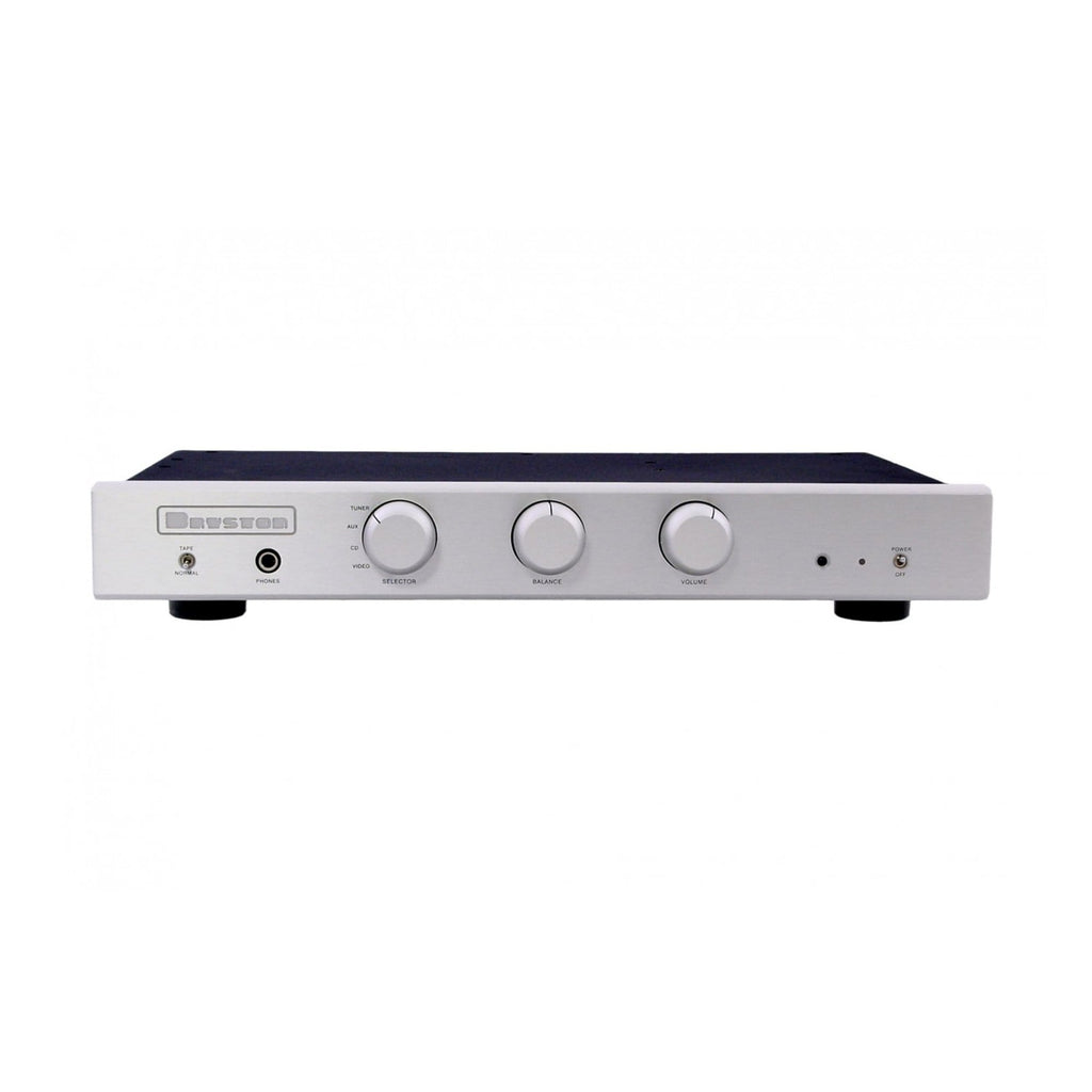 Bryston B60R Integrated Stereo Amplifier w/ DAC Silver