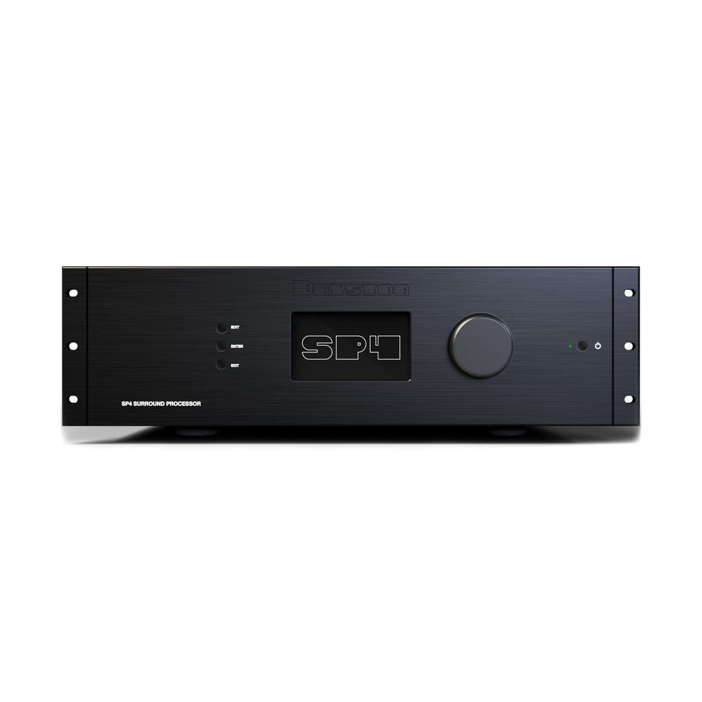 Bryston SP4 Surround Processor Black