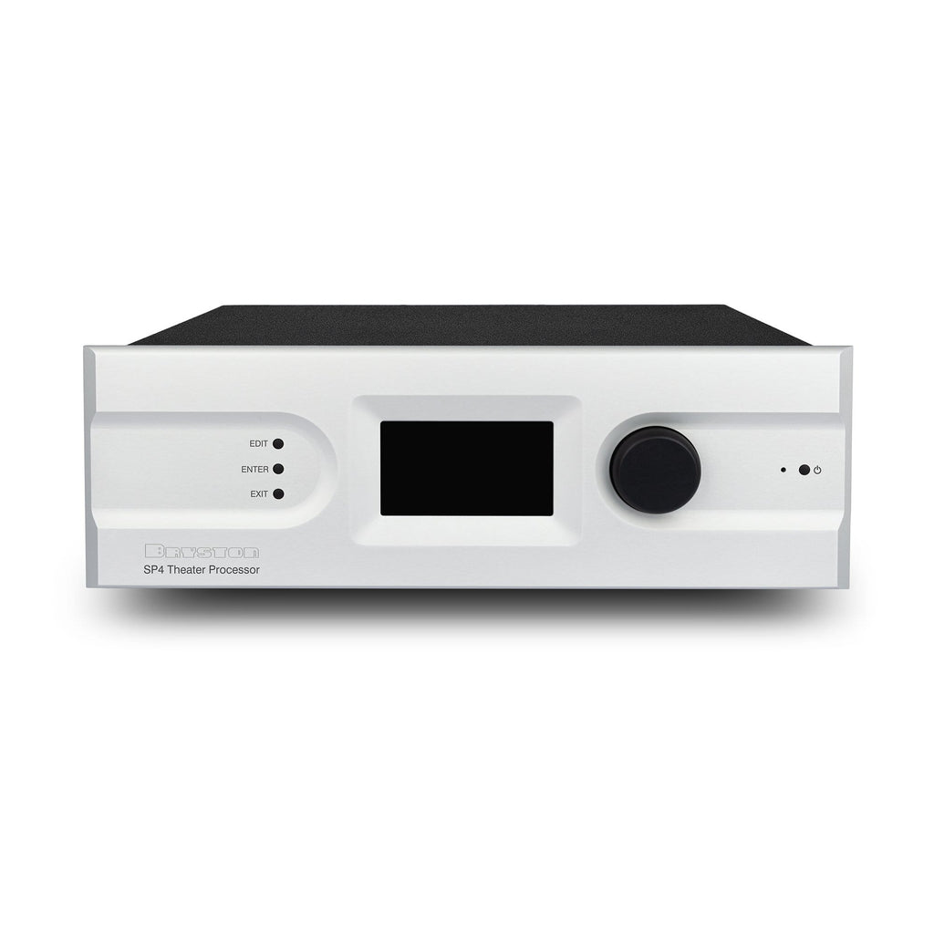 Bryston SP4 Surround Processor Silver