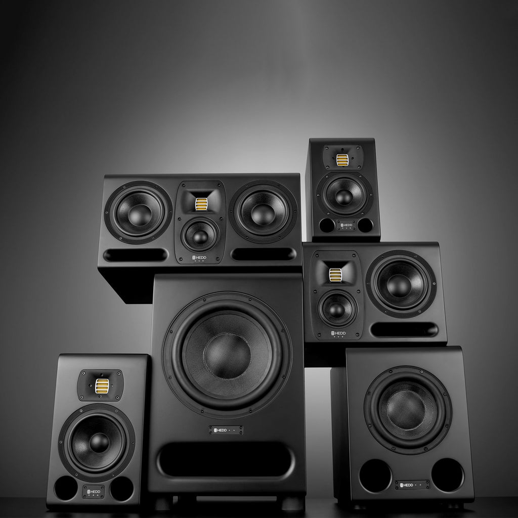 HEDD MK2 Studio Monitors and Subs
