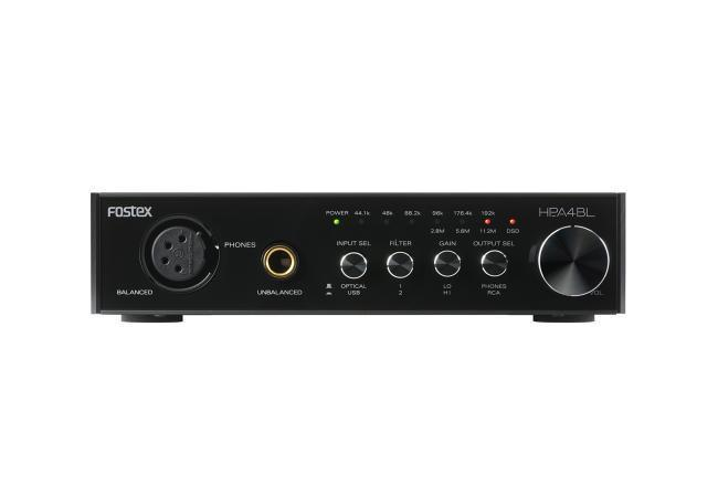 Fostex HP-A4BL Balanced 24-bit DAC and Headphone Amplifier