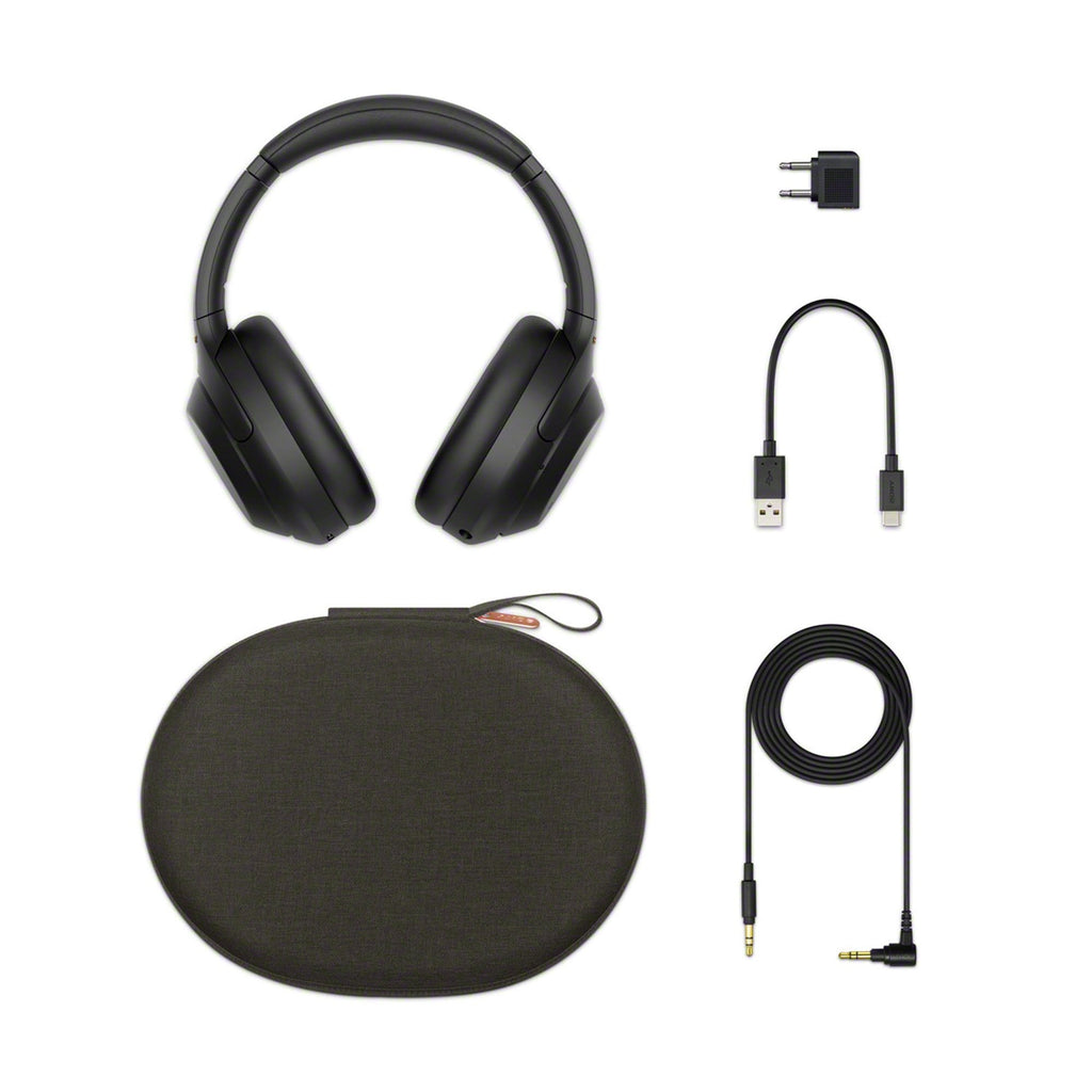 Sony WH-1000XM4 Bluetooth Noise Cancelling Headphones Black
