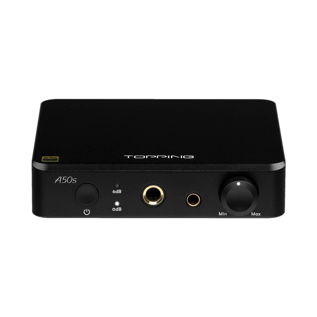 Topping A50s Headphone Amplifier Black