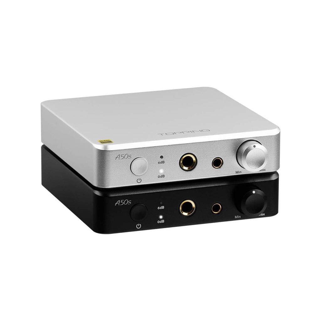 Topping A50s Headphone Amplifier Silver