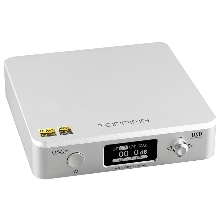 Topping D50s Desktop USB DAC