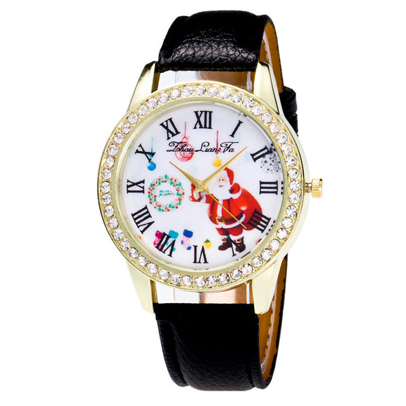 Christmas Gifts Watch Candy Color Male And Female Strap Wrist Watch