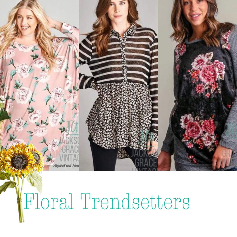 Fall Trends- Fall into Floral