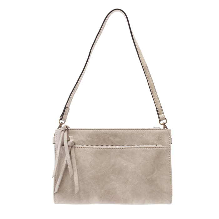 Dove Grey Cece Vintage Crossbody - Accessories- Jewelry and Totes