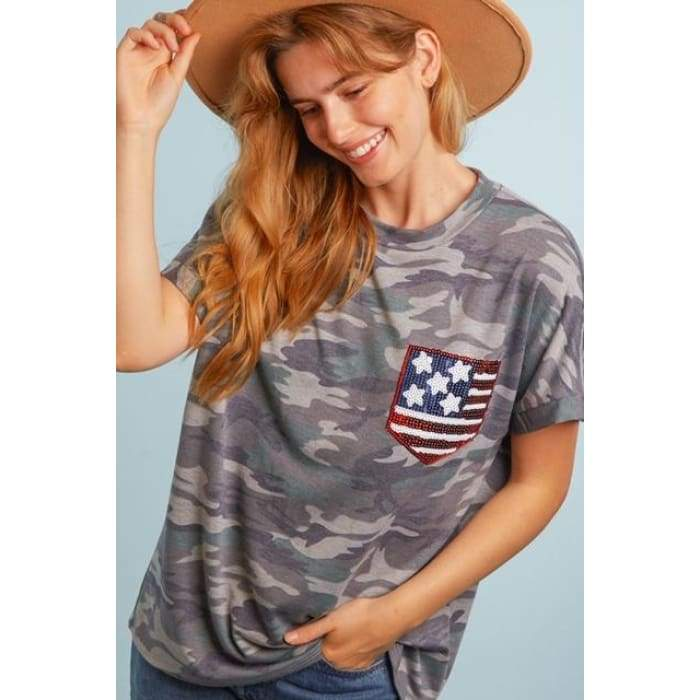 Freedom Camo Tee S-3XL - Apparel - Plus Size 1XL - 3XL