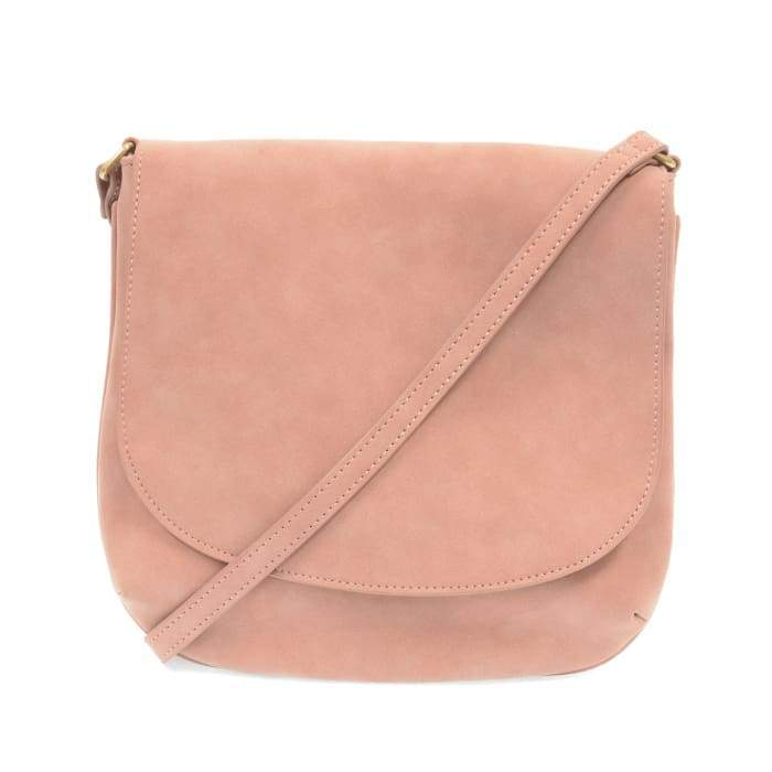 Jackie Large Flap Medium Crossbody Purse Tote Dusty Pink - Accessories- Jewelry and Totes