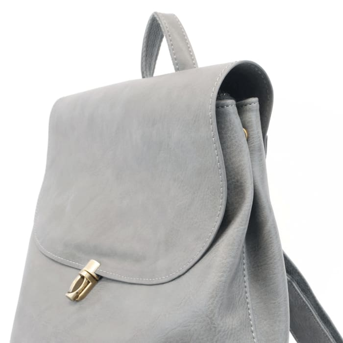 Light Denim Colette Backpack Tote - Accessories- Jewelry and Totes