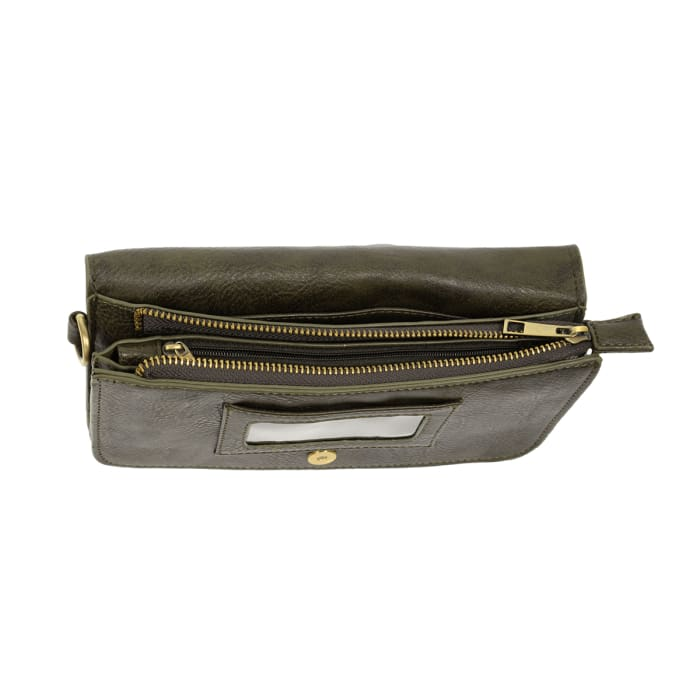 Olive Mia Multi Pocket Crossbody Clutch Purse - Accessories- Jewelry and Totes
