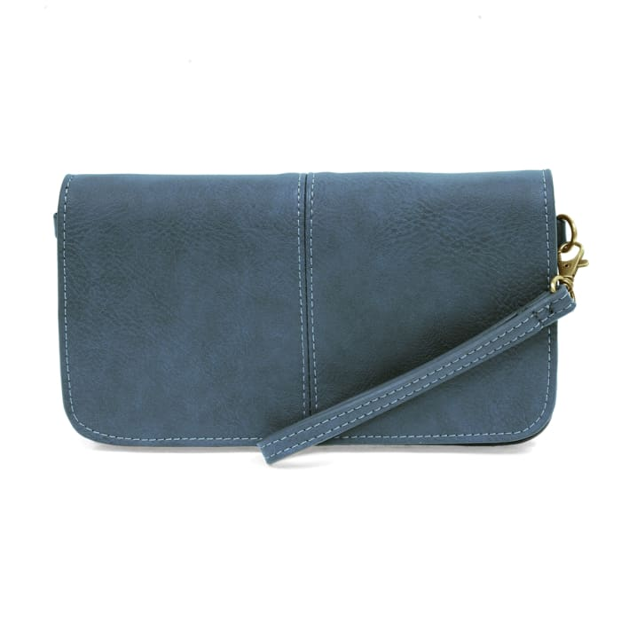 Pacific Blue Mia Multi Pocket Crossbody Clutch Purse - Accessories- Jewelry and Totes