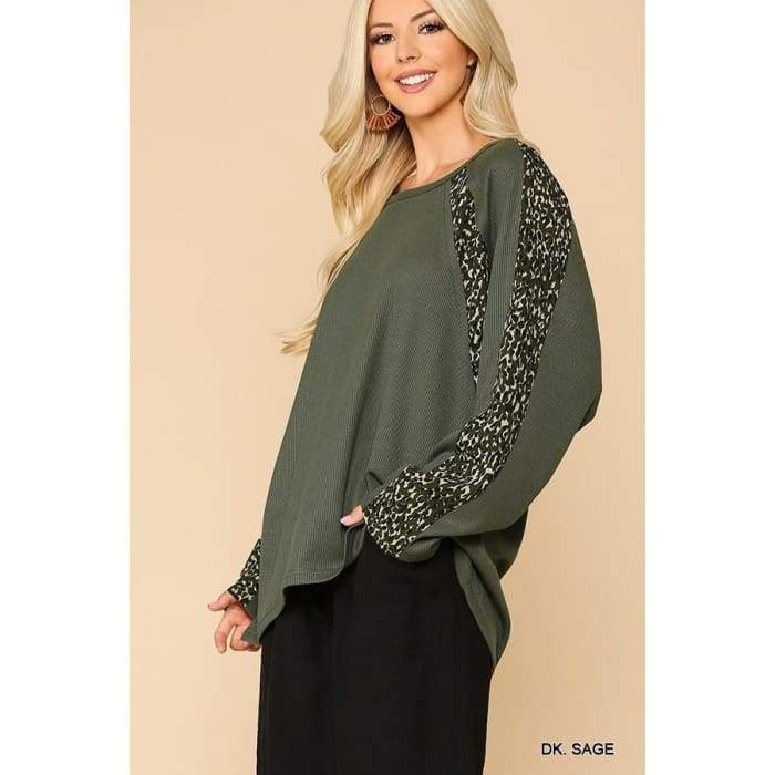 Sage it isn't So Top S-L - Apparel- Missy Sizes Small-Xlarge