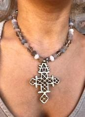 fashion jewelry cross necklace