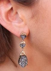 Fashion Jewelry Drury Style Earring