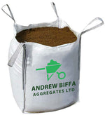 Best Value Multi-Purpose Topsoil. 1 ton bulk bag (Certified to BS3882) - Andrew Biffa Aggregates