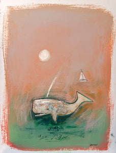 Print ~ The Mitty Whale