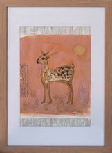 Load image into Gallery viewer, Print ~ The Sunset Deer Collage