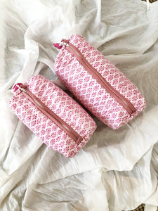 Nappy / Cosmetic Bag ~ Ayana