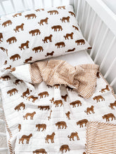 Load image into Gallery viewer, Kantha Cot Quilt ~ Leopard