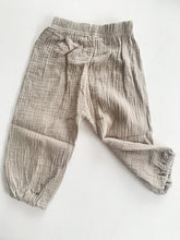 Load image into Gallery viewer, Kids Play Pants ~ Pebble Grey