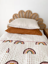 Load image into Gallery viewer, Single Kantha Quilt ~ RAINBOWS