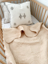 Load image into Gallery viewer, Kantha Cot Quilt ~ Nude