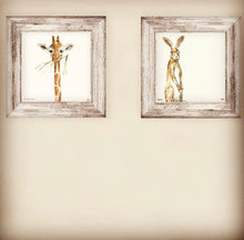 Load image into Gallery viewer, Print ~ Giraffe ~ 'The Madness of Love'