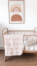 Load image into Gallery viewer, Kantha Cot Quilt ~   Egyption