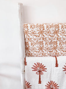 Kantha Cot Quilt ~   Egyption