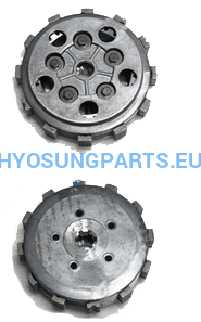 Hyosung Clutch Assembly Gt125 Gv125 Rx125 Rt125 - Free Shipping Hyosung Parts Eu