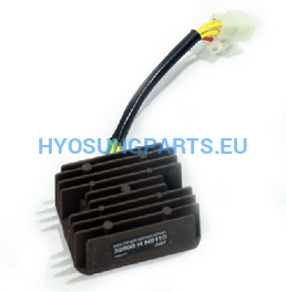 Hyosung Efi Voltage Regulator Rectifier Gt250 Gt250R Gv250 Gv650 St7 Gd250N - Free Shipping Hyosung Parts Eu