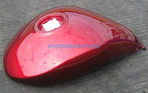 Hyosung Fuel Tank Cherry Red GV650 - Free Shipping Hyosung Parts EU