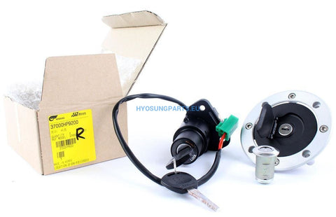 Hyosung Ignition Key Switch Lock Set Hyosung Gt125R Gt250R Gt650R - Free Shipping Hyosung Parts Eu